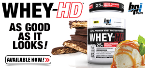 Whey HD by BPI