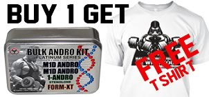 FREE T-Shirt with BULK ANDRO KIT