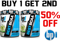 Best BCAA  BUY 1 GET 2ND  OFF