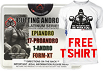 BUY Cutting Andro Kit  T-Shirt FREE