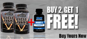 BUY 2 Cycle Assist GET Inhibit-E  FREE